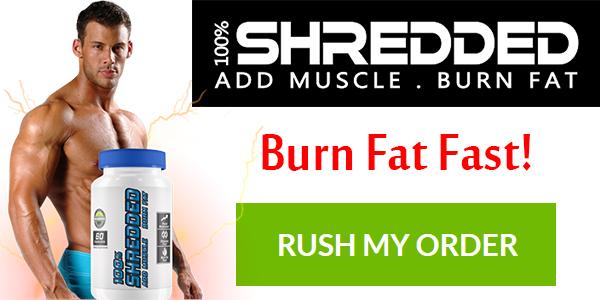 100 Shredded Testosterone Booster