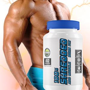 100 Shredded Muscle Builder