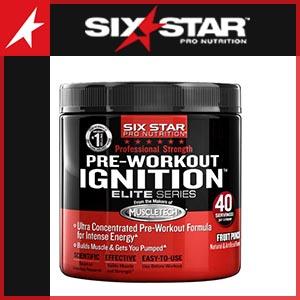 Six Star Pre Workout
